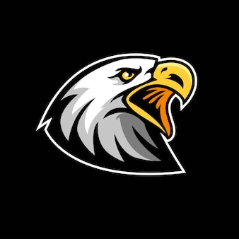 Adler-symbol für maskottchen
