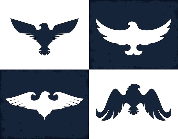 Adler und falken