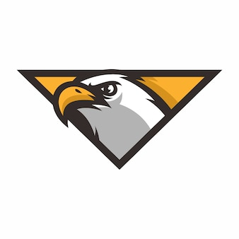 Adler - vektor icon illustration maskottchen