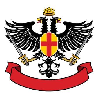 Adler zweiköpfige heraldik
