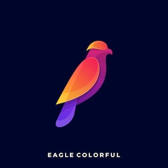 Adlerfarbe volles logo