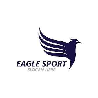Adlerflügel-logo-design-vektor-bild-vorlage