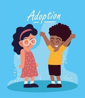 Adoption glückliche kinder