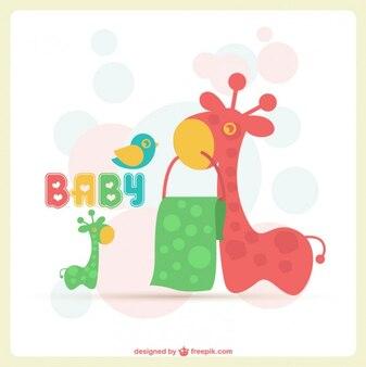 Adorable baby-karte