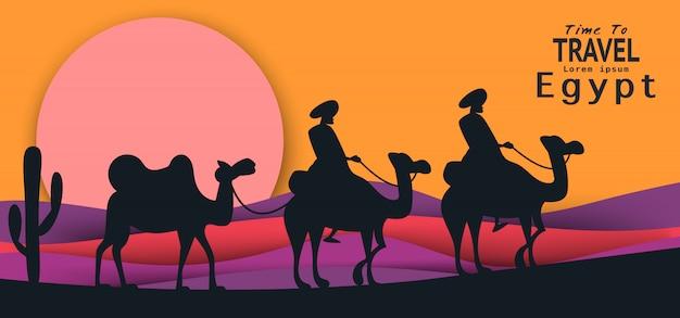 Ägypten reisen hintergrund