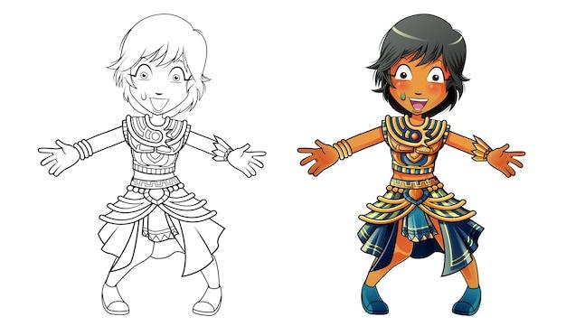Ägyptische karikatur malvorlagen für kinder