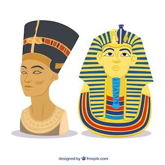 Ägyptischen pharaonen