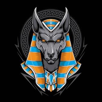 Ägyptischer anubis