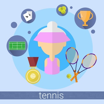 Ältere frau tennis player icon