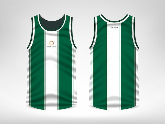 Ärmelloses sport t-shirt design