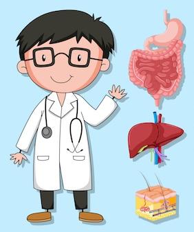 Ärzte und menschliche organe
