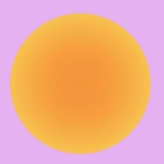 Ästhetischer wellenverlaufshintergrundvektor mit rosa und orange