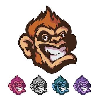 Affe maskottchen