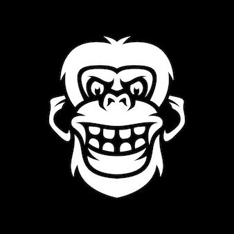 Affen-maskottchen-design