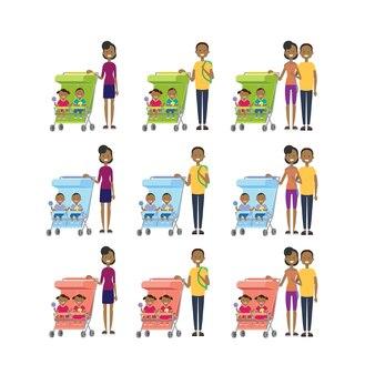 Afrikaner stellten muttervater verschiedene haltungen ein