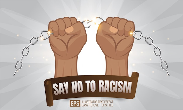 Afroamerikanische personenhände, die eine kette halten