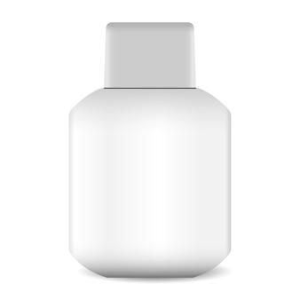 Aftershave-lotions- oder balsamflaschenillustration