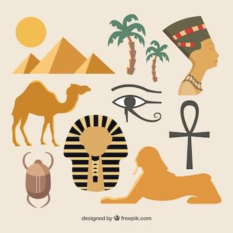Ägyptische Kultur Elemente