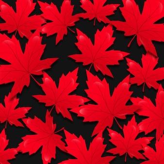 Ahornblatt für den kanada-tag