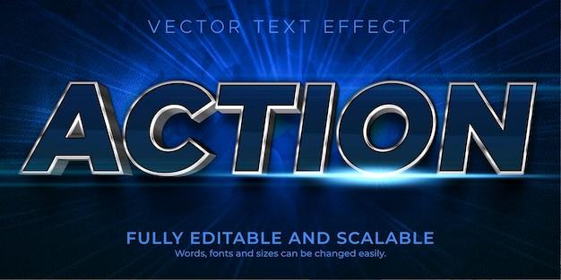 Aktionstext-effekt, bearbeitbarer textstil