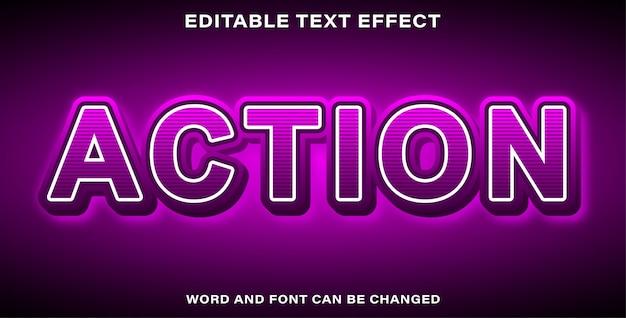 Aktionstext-effektstil