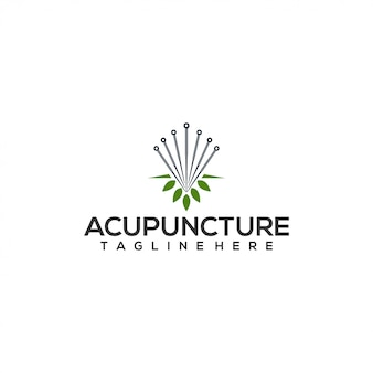 Akupunktur-logo-konzept
