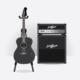 Akustische e-gitarre