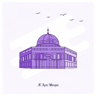 Al aqsa mosque wahrzeichen