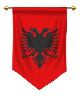 Albanien-wimpel