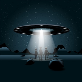 Alien-raumschiff