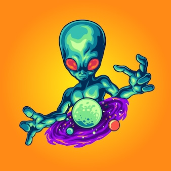 Alien und sein universum