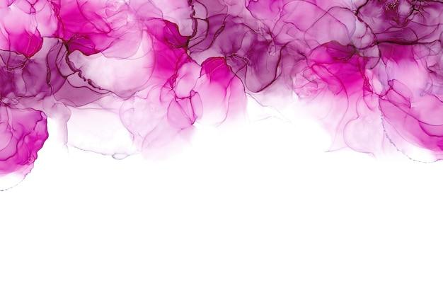 Alkoholtinte textur. abstrakte malerei der fließenden tinte