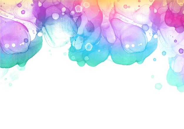 Alkoholtintenhintergrund mit weichen farben