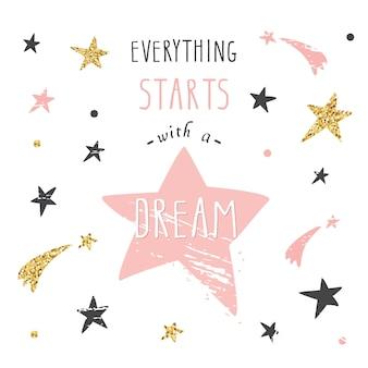 Alles beginnt mit einem traum.