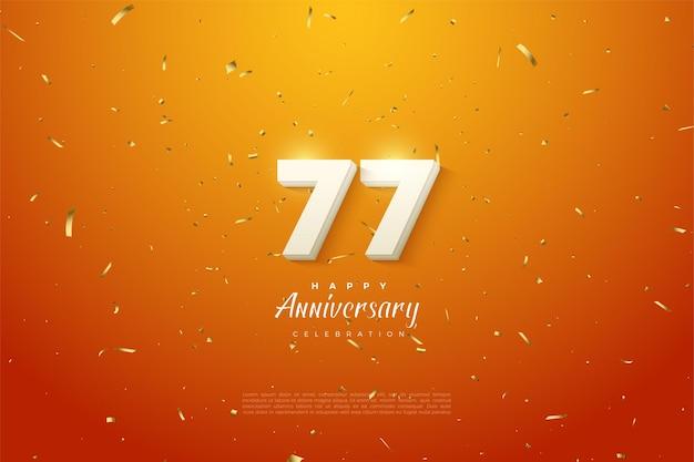 Alles gute zum 77. jahrestag