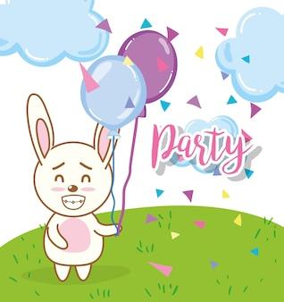 Alles gute zum geburtstag kaninchen cartoons
