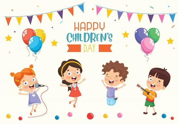 Alles gute zum kindertag