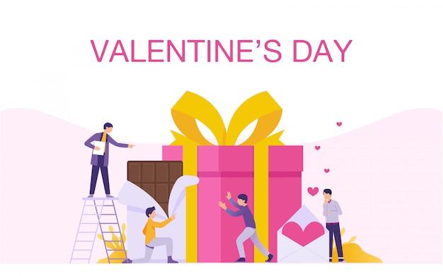 Alles gute zum valentinstag banner