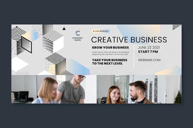 Allgemeine business-banner-vorlage