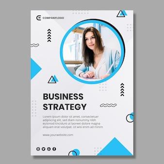 Allgemeine business-flyer-vorlage
