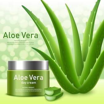 Aloe vera-konzept