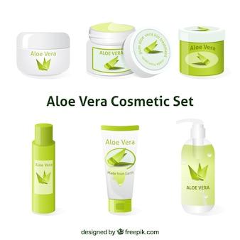 Aloe vera kosmetik set