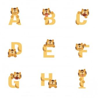 Alphabet ai tiger
