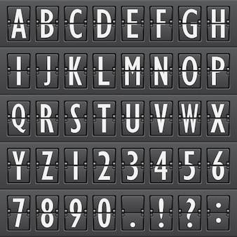 Alphabet, flughafen