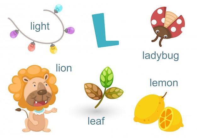 Alphabet l