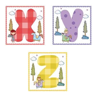 Alphabete buchstaben für kinder