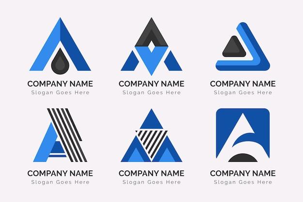 Alphabetischer buchstabe eine logosammlung
