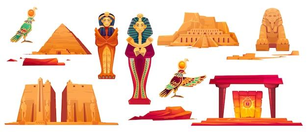 Alte ägyptische wahrzeichen