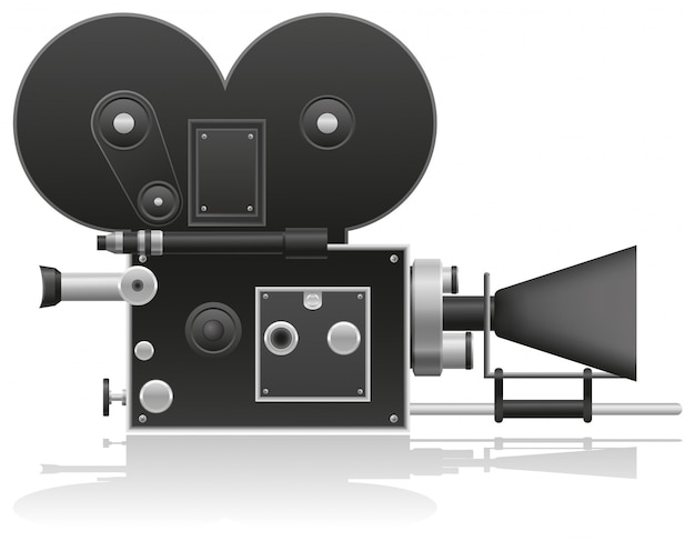 Alte filmkamera.