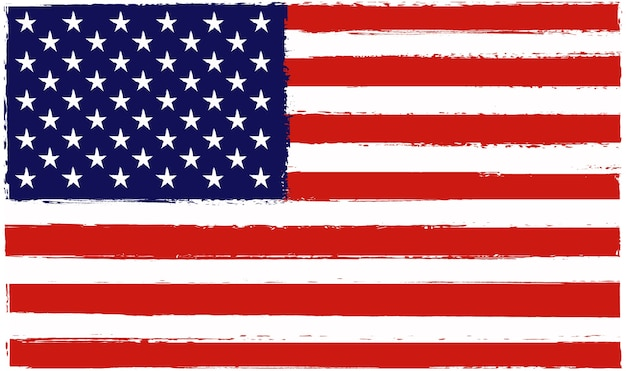 Alte flagge der vereinigten staaten